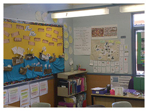 Year 2 and 3 classroom