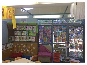 Kindy classroom